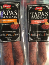 Spanish Chorizo (Hot or Mild)- 200g